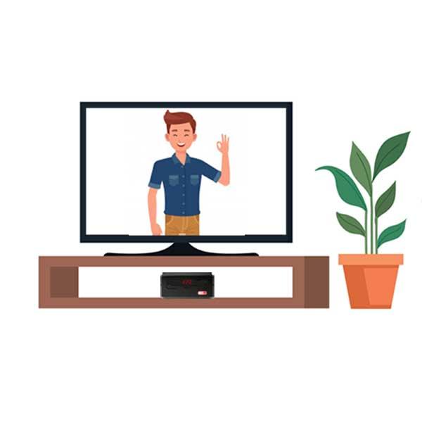 محافظ برق تلویزیون، صوتی تصویری و لوازم دیجیتال به رنگ مشکی